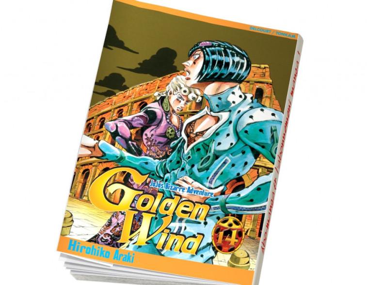 Abonnement Jojo's - Golden Wind tome 14