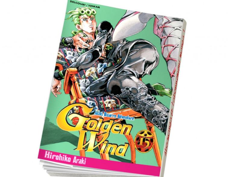 Abonnement Jojo's - Golden Wind tome 15