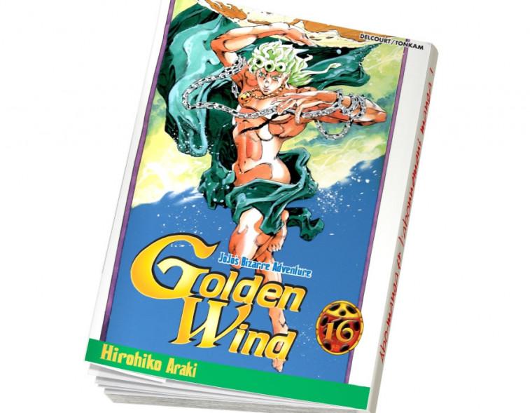 Abonnement Jojo's - Golden Wind tome 16