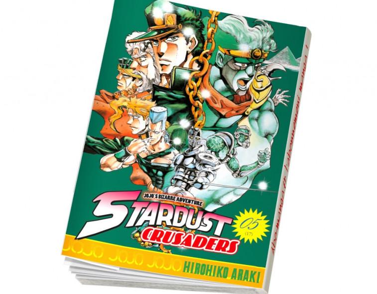 Abonnement Jojo's - Stardust Crusaders tome 5