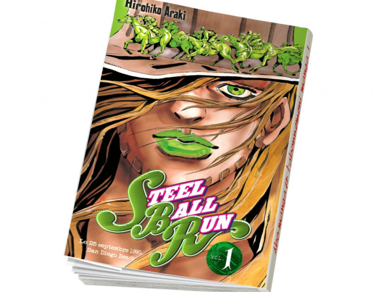 Abonnement Jojo's - Steel Ball Run tome 1