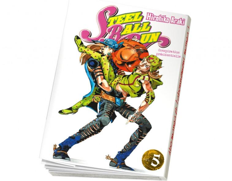 Abonnement Jojo's - Steel Ball Run tome 5