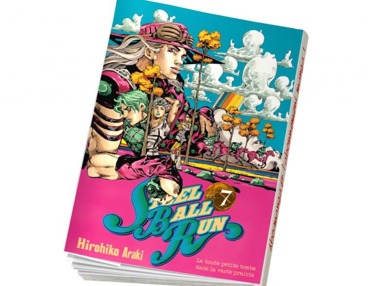 Abonnement Jojo's - Steel Ball Run tome 7