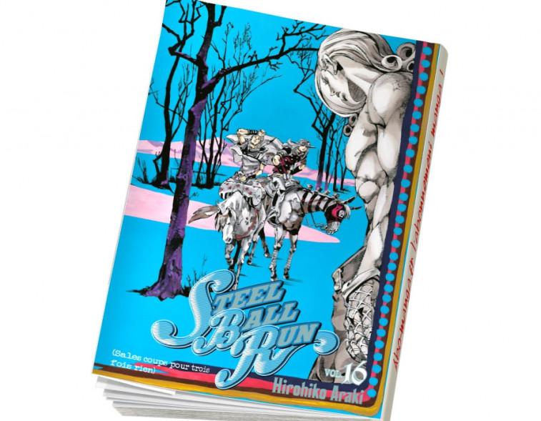 Abonnement Jojo's - Steel Ball Run tome 16