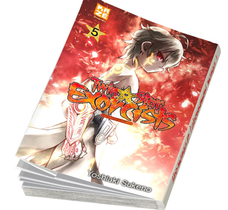 Abonnement Twin Star Exorcists tome 5