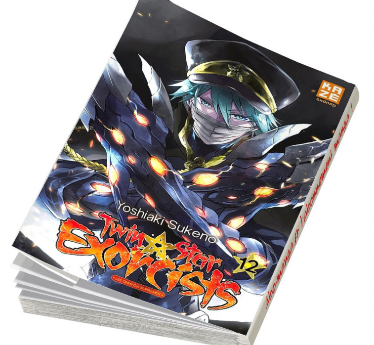 Abonnement Twin Star Exorcists tome 12