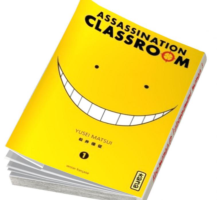 Abonnement Assassination Classroom tome 1