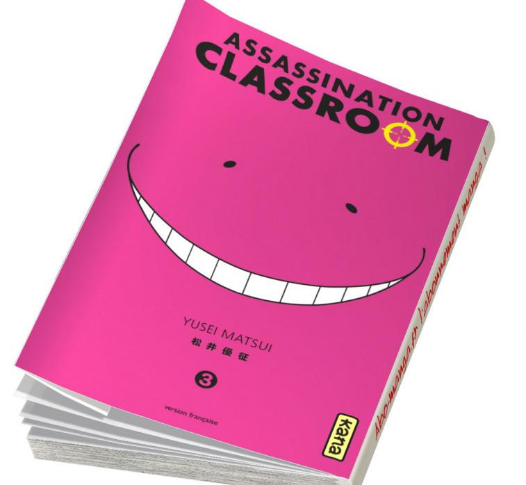 Abonnement Assassination Classroom tome 3