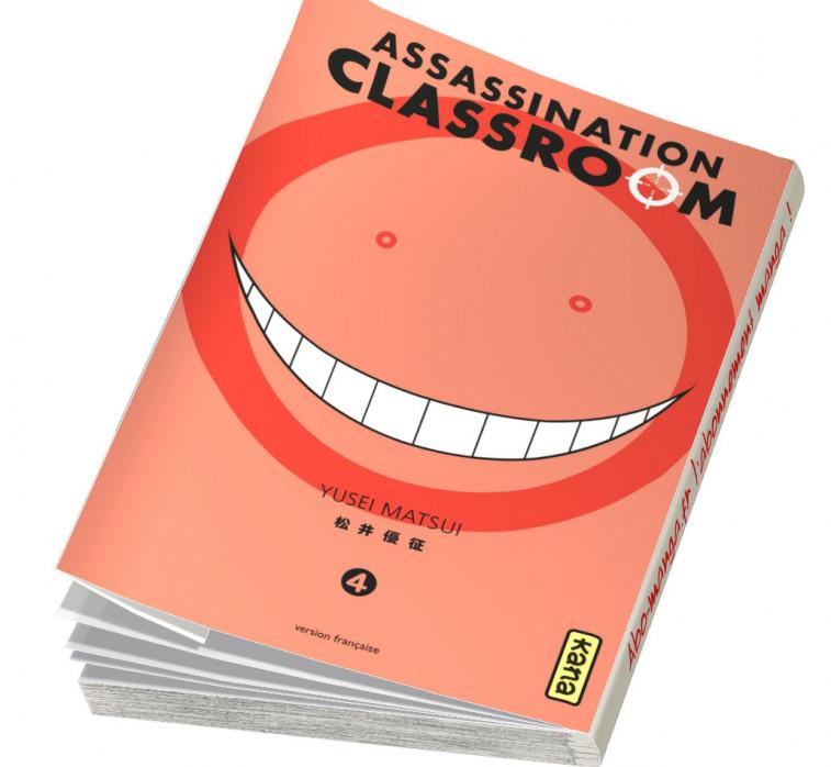 Abonnement Assassination Classroom tome 4