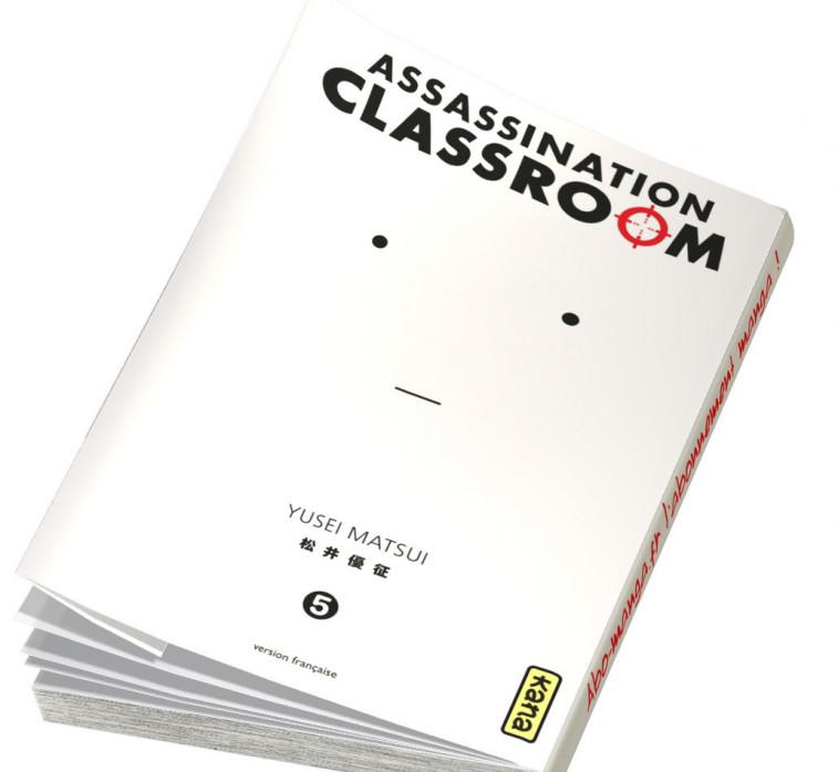 Abonnement Assassination Classroom tome 5