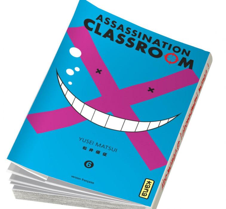Abonnement Assassination Classroom tome 6
