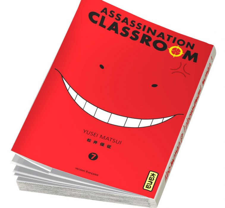 Abonnement Assassination Classroom tome 7