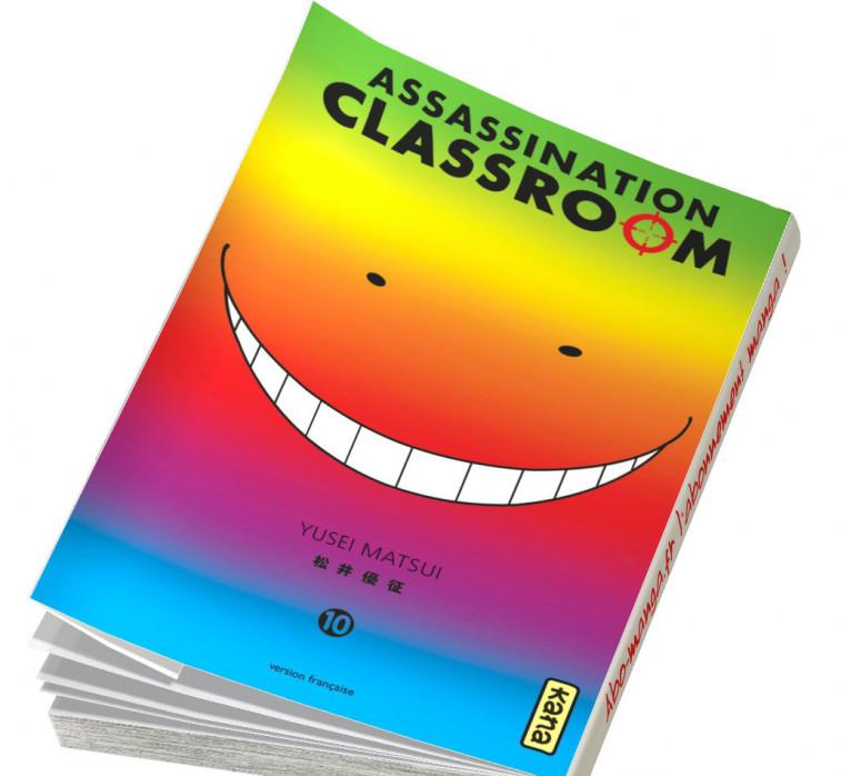 Abonnement Assassination Classroom tome 10