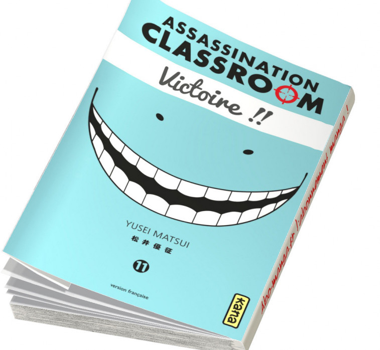 Abonnement Assassination Classroom tome 11