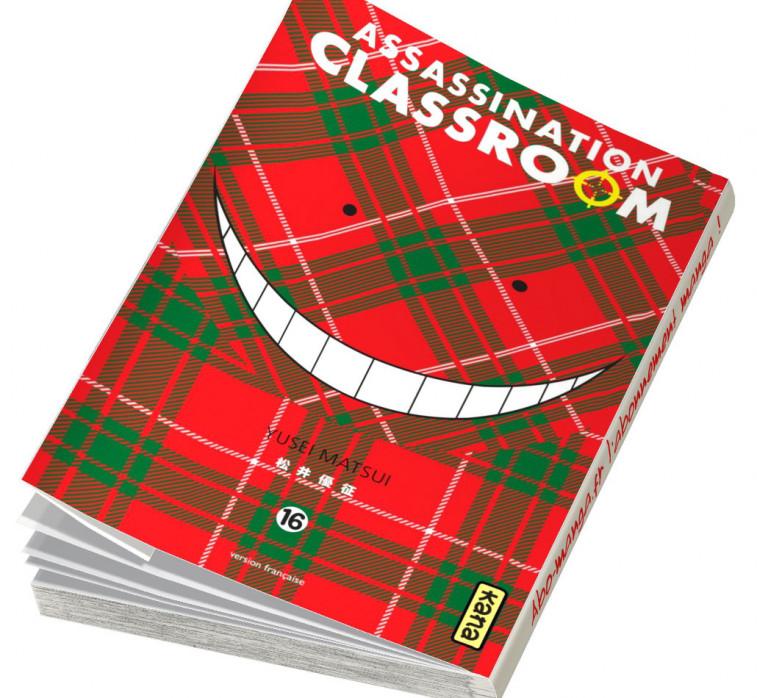 Abonnement Assassination Classroom tome 16