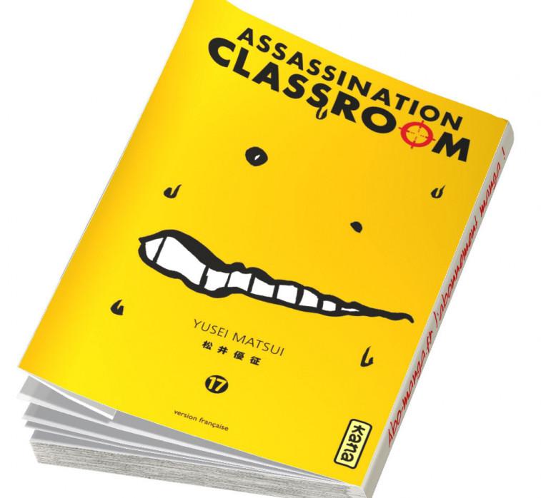 Abonnement Assassination Classroom tome 17