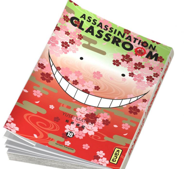Abonnement Assassination Classroom tome 18