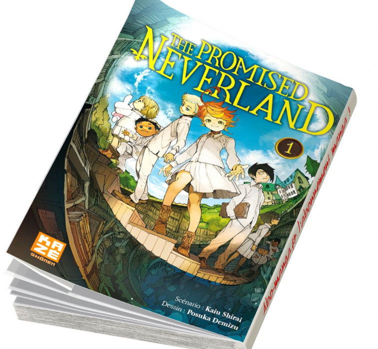The promised Neeverland tome 1