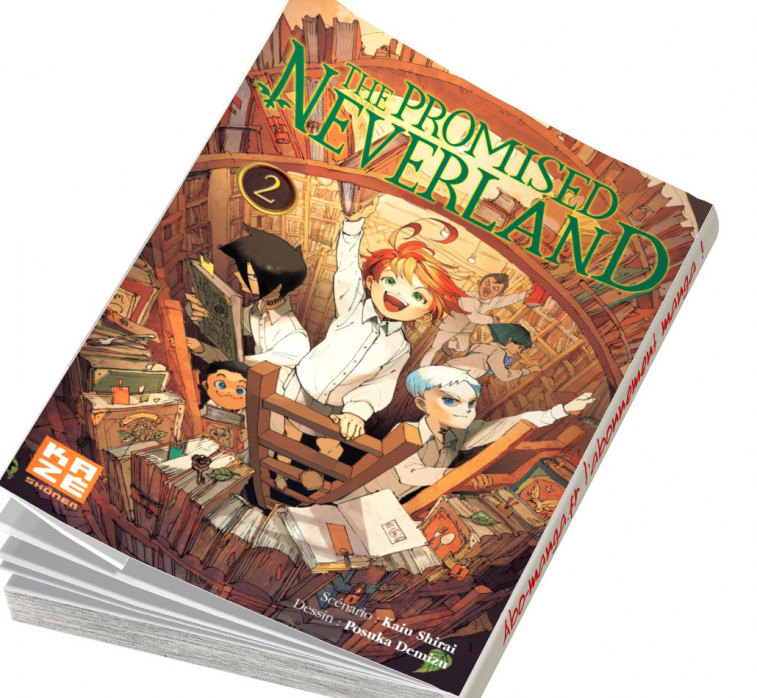 Abonnement The Promised Neverland tome 2
