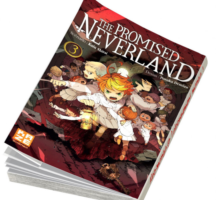 Abonnement The Promised Neverland tome 3