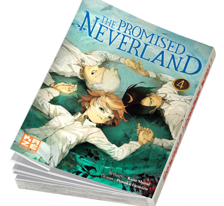 Abonnement The Promised Neverland tome 4