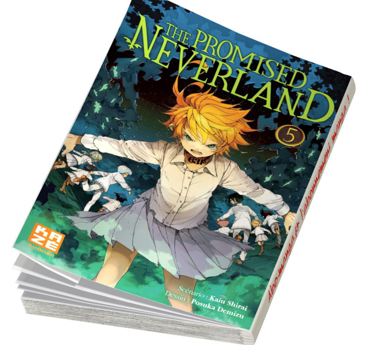 Abonnement The Promised Neverland tome 5