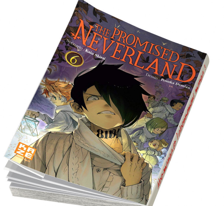Abonnement The Promised Neverland tome 6