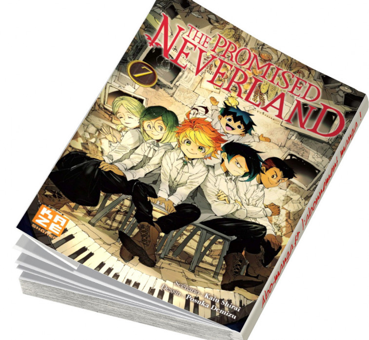 Abonnement The Promised Neverland tome 7