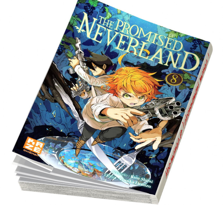 Abonnement The Promised Neverland tome 8