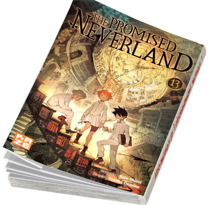 Abonnement The Promised Neverland tome 13