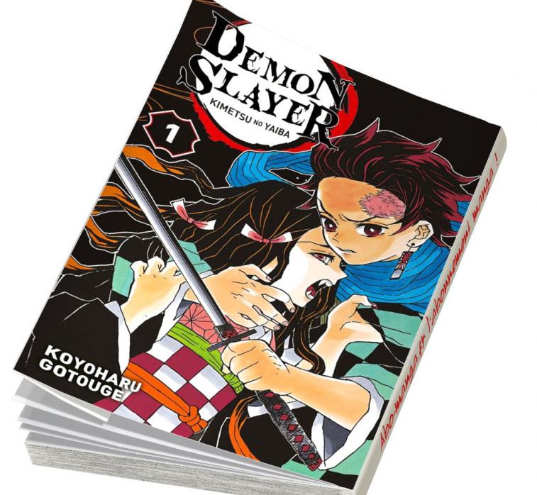 Abonnement Demon Slayer tome 1