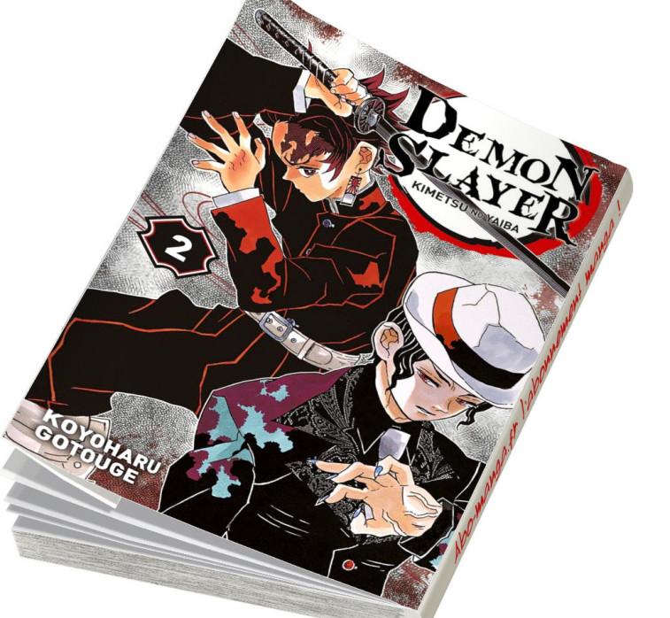 Abonnement Demon Slayer tome 2