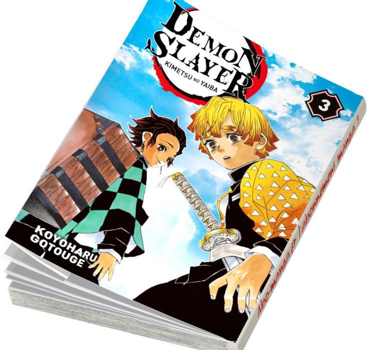 Abonnement Demon Slayer tome 3
