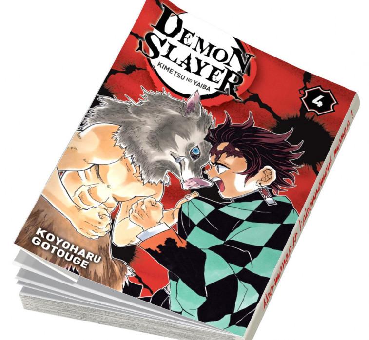 Abonnement Demon Slayer tome 4
