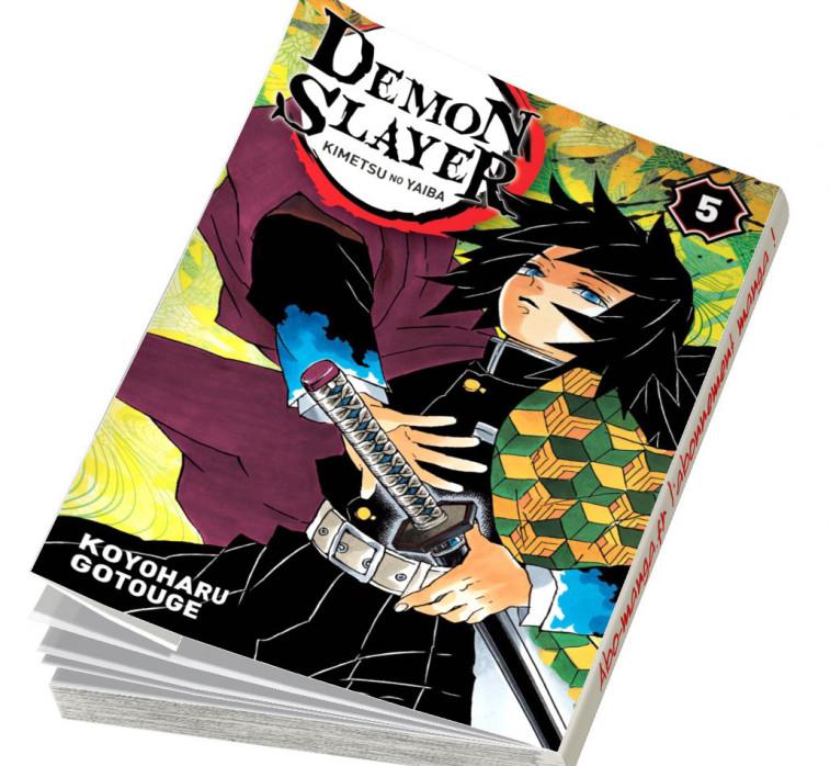 Abonnement Demon Slayer tome 5