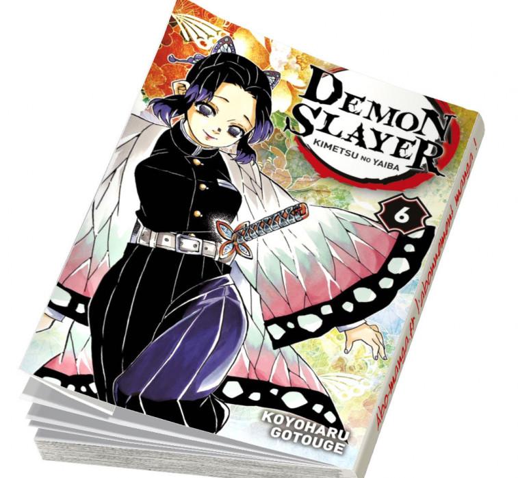 Abonnement Demon Slayer tome 6