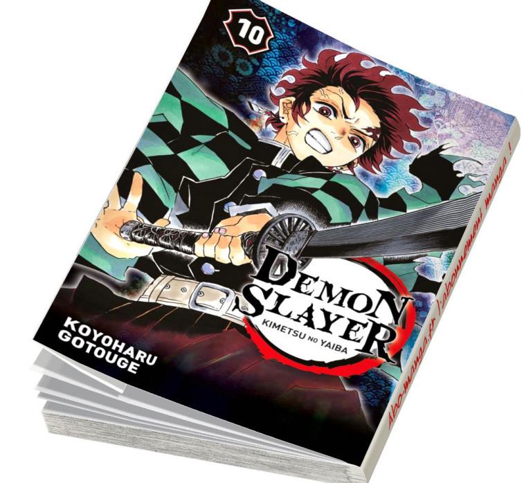 Abonnement Demon Slayer tome 10