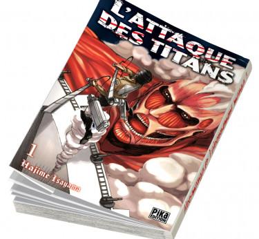 L'Attaque des Titans L'Attaque des Titans T01