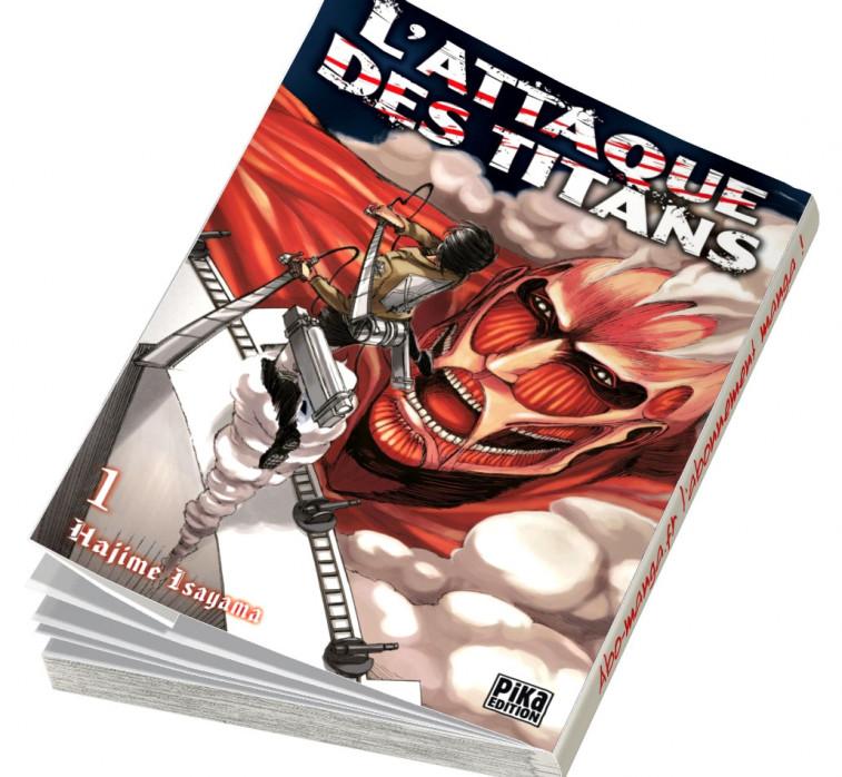 Abonnement L'Attaque des Titans tome 1