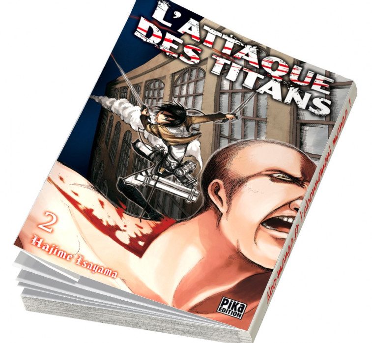 Abonnement L'Attaque des Titans tome 2