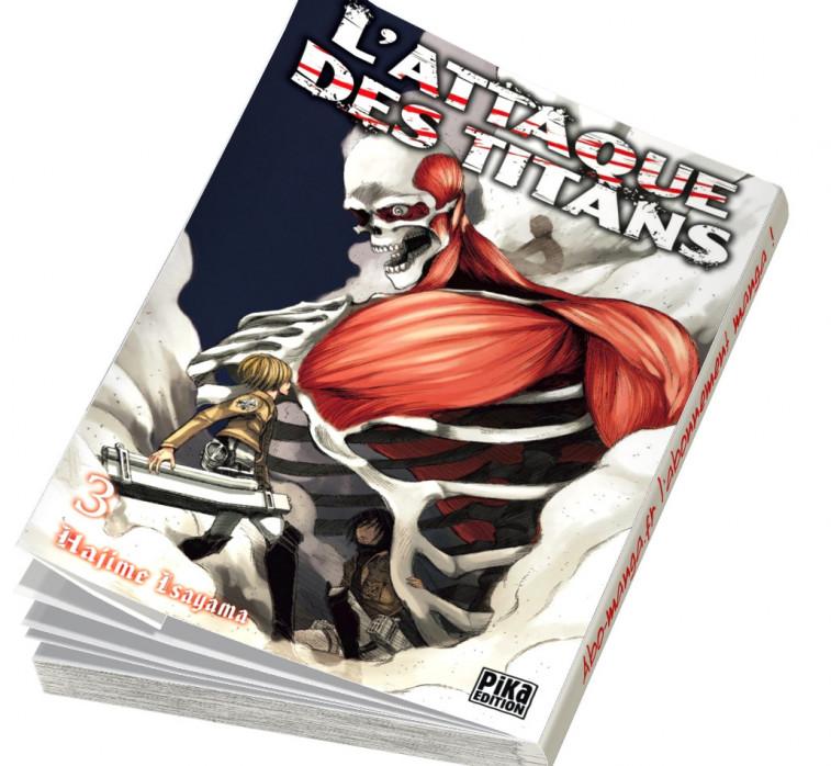 Abonnement L'Attaque des Titans tome 3