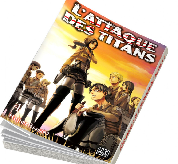 Abonnement L'Attaque des Titans tome 4