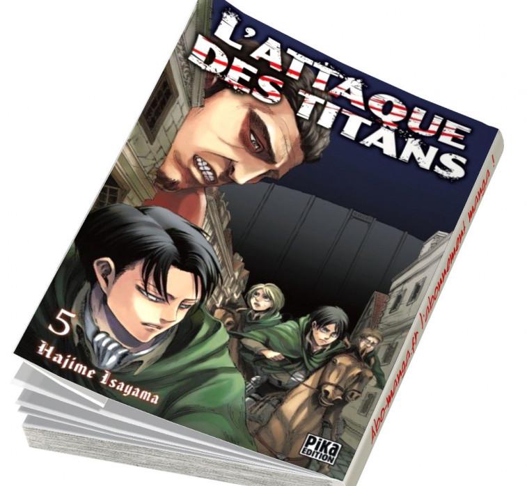 Abonnement L'Attaque des Titans tome 5