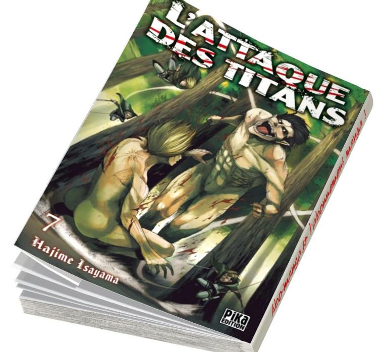 Abonnement L'Attaque des Titans tome 7