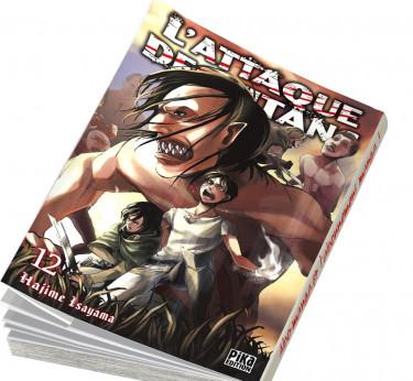 L'Attaque des Titans L'Attaque des Titans T12