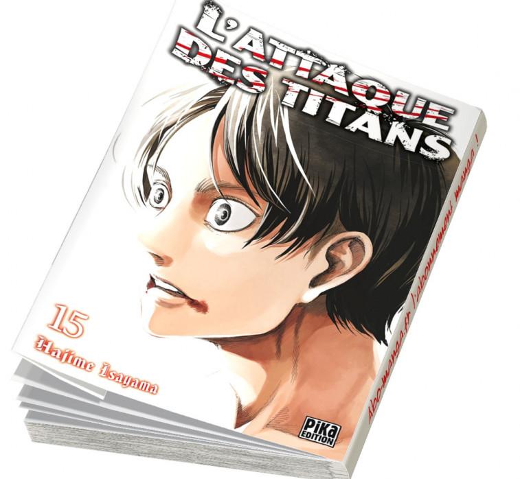 Abonnement L'Attaque des Titans tome 15