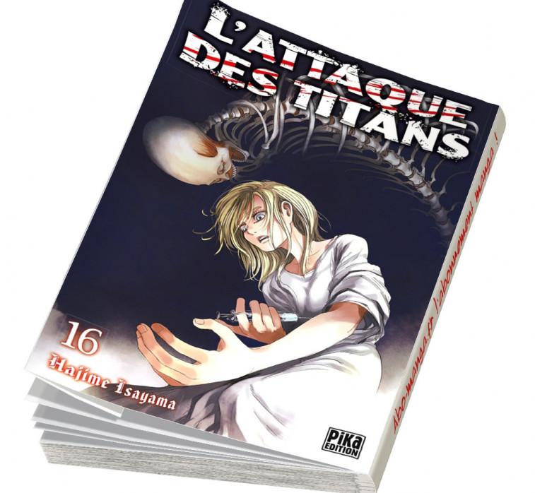 Abonnement L'Attaque des Titans tome 16
