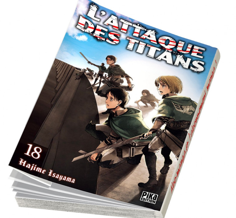 Abonnement L'Attaque des Titans tome 18