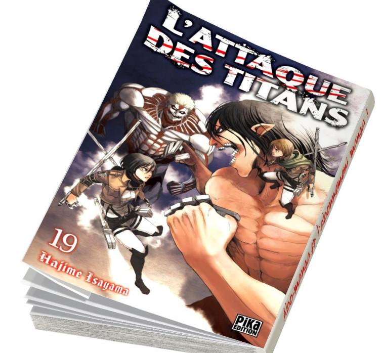 Abonnement L'Attaque des Titans tome 19