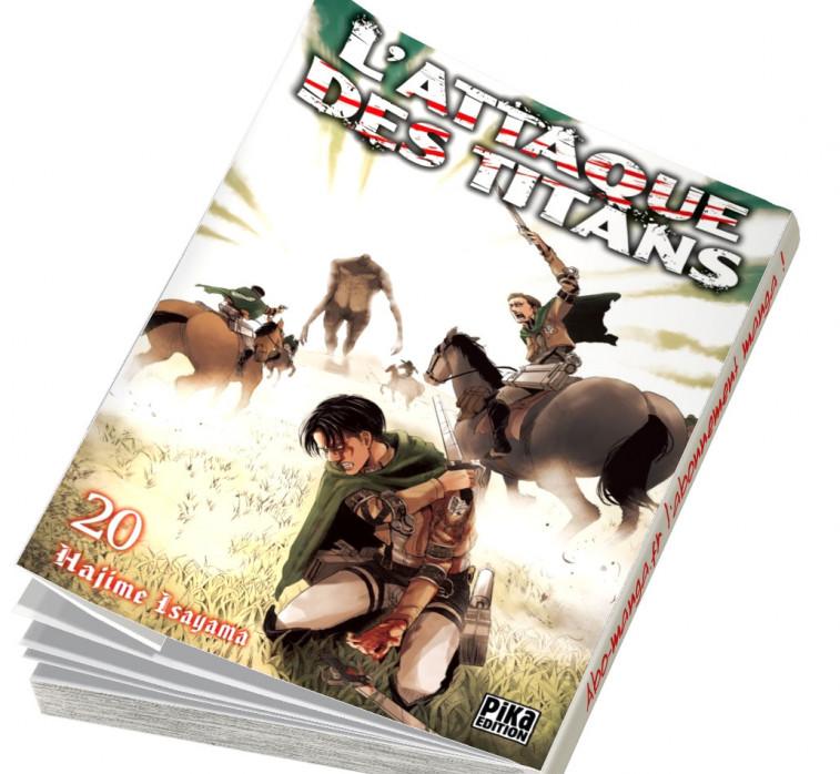 Abonnement L'Attaque des Titans tome 20